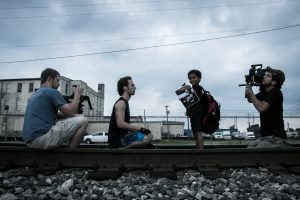 "Filming ""Train"" Commercial Spot"